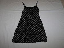 VGC Ladies Black Mix Strappy Top By Divided H&M Size 10