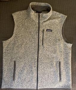 Patagonia mens Better Sweater Vest sz XL gray grey
