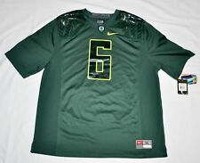 Men's Nike Oregon Ducks 6 Green Game Jersey $90 Nwt Mighty Oregon sz Xl $90