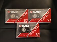 Audio Kassette Tape Cassette BASF FERRO EXTRA I 60  NEU OVP Audio Tape
