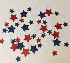 Red White And Blue Stars Mix Table Confetti Party Summer Birthday Baby & Wedding