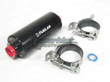 Fuelab Prodigy Fuel Pump High Pressure EFI In-Line 105 GPH @ 45 PSI 1000HP Black