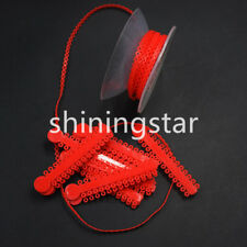 Dental Orthodontic Power Chain + Elastic Ligature Ties Rubber Bands Braces Red