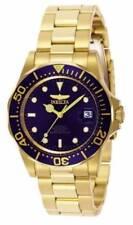 Relojes de pulsera automático Blue de acero inoxidable