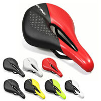 EC90 Carbon Leather Bicycle Saddle MTB Bike Saddles Road Soft Seat 240 x 143MM
