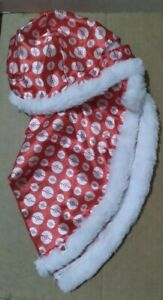 Build A Bear Red and White  Pokemon Cape Nice Pre owned