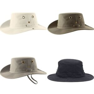 Tilley T3 Snap-Up Brim Cotton Duck Hat - Various Sizes and Colors