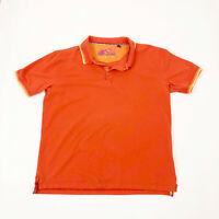 EUC Robert Graham Orange Polo Shirt Mens 2XL