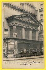cpa PARIS Rue de TRACY CHAPELLE des FILLES St CHAUMOND Fabrique d'APPRETS Barils