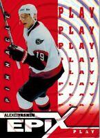 ~Pinnacle Epix 1997-98: Orange Play Card of Alexei Yashin E4