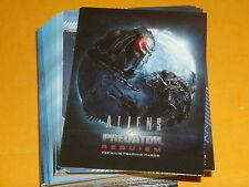 Aliens vs. Predator 'Requiem' Base Set Of 81 Premium Trading Cards  Cult Movie