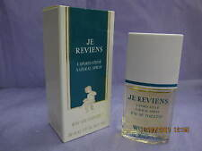*ORIGINAL* JE REVIENS by WORTH PARIS 1.0 FL oz / 30 ML EDT Spray New In Box