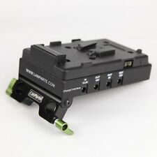 Lanparte VBP-01 Rig V-Lock Battery Power Distributor Pinch,Charger & HDMI Split