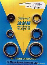 Engine Oil Seal Kit KTM125 KTM 125 144 150 200 1998 to 2015