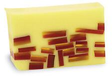 PRIMAL ELEMENTS TAHITIAN VANILLA 6.0 OZ. VEGETABLE GLYCERIN BAR SOAP HANDMADE