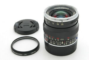 【MINT】Contax Carl ZEISS Biogon T* 35mm f/2 ZM For Leica M Mount Lens From JAPAN