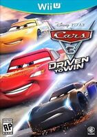 NINTENDO WII U VIDEO GAME CARS 3 DRIVEN TO WIN BRAND NEW AND SEALED