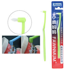 Cleaners Floss Interdental Bristle Orthodontic Braces Cleaning Toothbrush CuY Fe