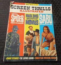 1964 SCREEN THRILLS ILLUSTRATED Magazine #8 VG- Spider Marx Bros. Zabu