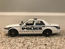 Lenoir City Tennessee Custom Police Car MotorMax 1:24 scale