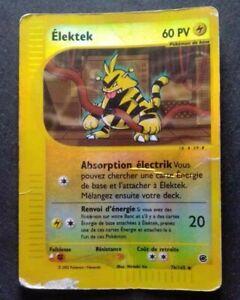 ELEKTEK 76/165 - REVERSE - EXPEDITION - CARTE POKEMON 2002 VF