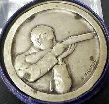 Médaille en bronze sous-secrétariat d'état de l'éducation physique Fraisse Tir