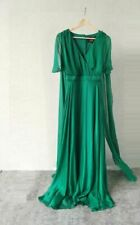 £295 Phase Eight Arwen Silk Drape Maxi dress party long gown event size UK 20
