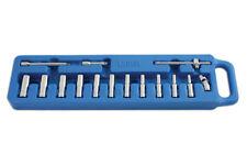 DEEP Socket Set Extension + T-Bar set & Tool Case 1/4 Drive 4mm > 13mm
