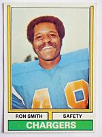 Ron Smith #45 Topps 1974 Football Card (San Diego Chargers) VG