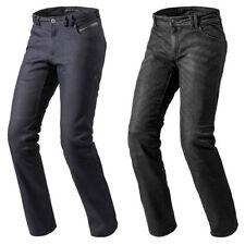 Pantaloni in tessuto di cotone per motociclista