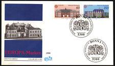 Bund 1461-62 FDC, CEPT 1990-Postalische Einrichtungen