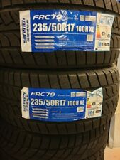 2X NEW SAFERICH FRC79 WINTER/SNOW/ICE/MUD 235/50 R17 A1 CAR TYRES 235 50 17 M&S