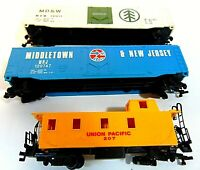 HO SCALE LOT PARTS MODEL TRAIN RR FREIGHT CABOOSE NEW JERSEY