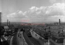 PHOTO  GWR LOCO  7243AT BRIDGEND RAILWAY STATION ON 3RD JULY 1954