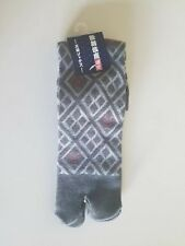 New MADE IN JAPAN TABI style split toe socks kimono flip flops 25-27cm NWT
