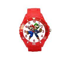 orologio Super Mario Bros e Luigi nuovo per bambino children watch woman ragazzo