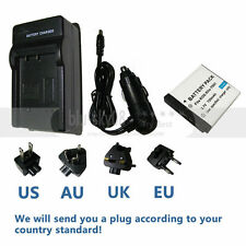 Battery+charger for Kodak KLIC-7001 EasyShare M320 M340 M341 M753 Zoom M763 M853