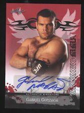2010 Leaf GABRIEL GONZAGA auto autograph MMA
