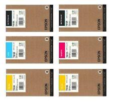 6 x Original Tinte EPSON Stylus Pro 9400 7400 / T6128 T6124 T6123 T6122 je 220ml