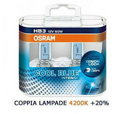 COPPIA HB3 9005 OSRAM COOL BLUE INTENSE XENON LOOK 4200K 9005CBI