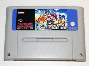 *PAL Version* New Super Mario Land Game For Nintendo SNES Mario Bros World