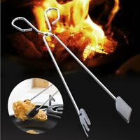 BBQ Tools Stainless Steel Scissors Type Grilled Bread clip Multifunction Tong AU