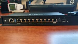 Ubiquiti Networks ER-12 EdgeRouter 10-port Gigabit PoE Router with 2 SFP Ports
