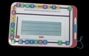 Fisher Price Think And Learn AlphaSlider Writer With Stylus Slide Letters Erase