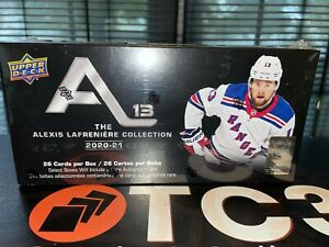 2020-21 Upper Deck Alexis LaFreniere Hockey Retail Box