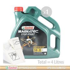 Engine Oil Service Kit: 4 litres of Castrol Magnatec 5W-30 C3