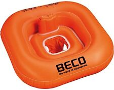 ORANGE BECO SWIMMING SEAT BABY FLOAT AID up to 11kg 1yr BECO