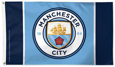 Manchester City FC Soccer 3'x5' DELUXE-EDITION Official Soccer Team FLAG