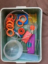 Hamster Cage Spares, Bits And Bobs, Rotastak Various In A Tray