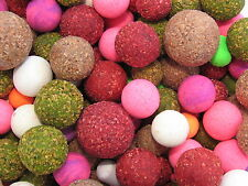 Fluoro and Cork Dust Scopex Pop-up Fishing Bait Mega Mix Pop-Ups Carp Tackle
